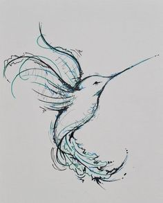 tattoo ideas, bird tattoos, hummingbird tattoo, tattoo names, a tattoo, cute drawings for boyfriend, sketch tattoo, hummingbird sketches, cute tattoo designs