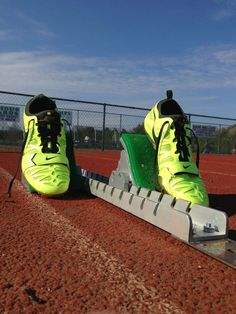 Track is life Nike Spikes