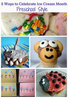 Reading Confetti: 5 Ways to Celebrate Ice Cream Month Preschool Style