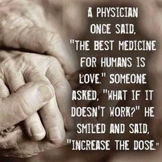 Love - let's increase the dose!
