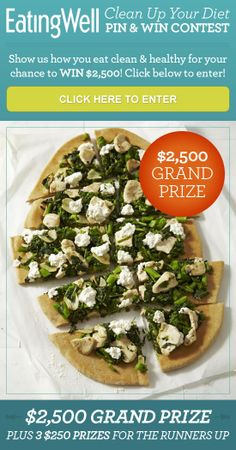 The EatingWell Pin & Win Sweepstakes #Contest #pinandwin