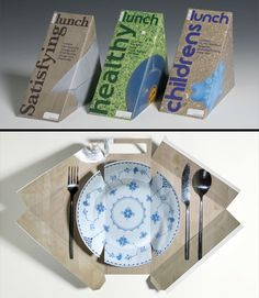 Have you saw a plate in a Sandwich #Packaging, check this out