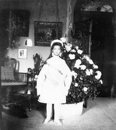 Maria Nikolaevna in her Court Dress.