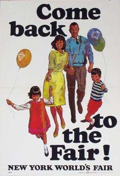 New York World's Fair 1964 poster
