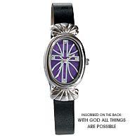 Inspirational Cross Watch