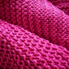 Color Fucsia - Fuchsia!!! Knitting