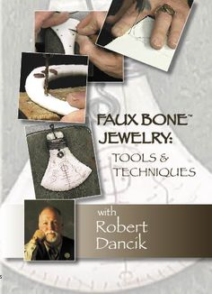 tool techniqu, faux bone, jewelri tutori, bones, robert dancik, bone jewelri