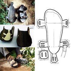 sandália de pneu