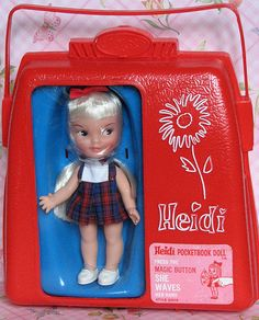 I thought it was so great that she waved :)  Still have my Hi, Heidi doll.