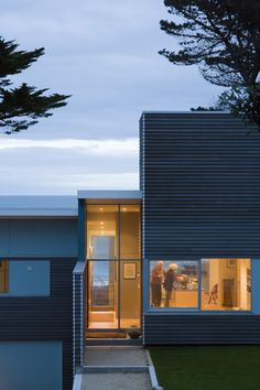 Very nicely done.  Parsonson Architects.  NZ