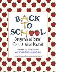 parent communication, teacher letter to parents, school organiz, back to school