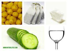 5 Natural Remedies for Under Eye Black Circles   #DIY