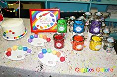 Rainbow Art Party