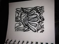 LezaCameron Zentangle simple shape