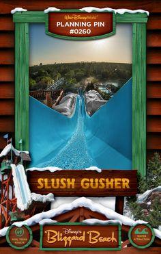 Walt Disney World Planning Pins: Slush Gusher