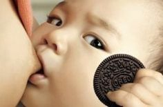 Oreo breastfeeding baby ad is bonkers, awesome