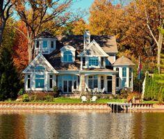 New England Lake House....