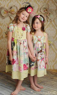Sweet peasant dresses