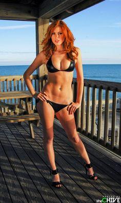 beauti women, redhead beauti, redhead girl, sexi, hot redhead, beauti redhead, hot babe, bikini red, red head