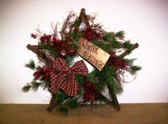 Tobacco+Stick+Craft+Ideas | Tobacco Stick Christmas Star | Christmas Crafts and Ideas