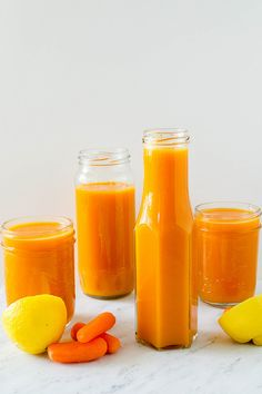 Mango carrot juice