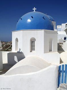 White and Blue - Oia  Greece