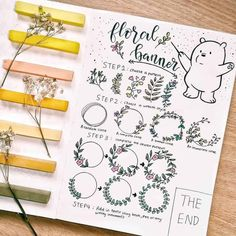 "50 amazing doodle ""How to's"" for your bullet journal 