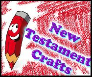 New Testament Crafts for Kids in Sunday school. Free Printables to cut out. #new #testament #crafts #sunday #school