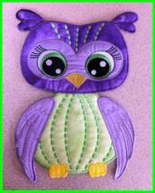 Owl in the hoop