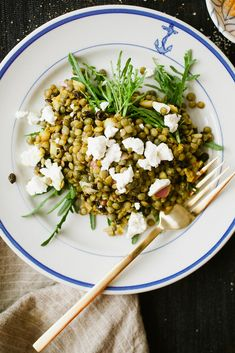 Your New Delicious, Go-To Summer Salad - LENTILS