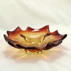 Murano Italian Art Glass Bowl