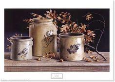 Pauline Campanelli Framed Art | ... Pauline Eble Campanelli. Decorative Pottery prints at Framed-Arts.com