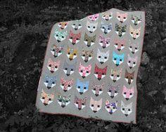 FANCY FOX pdf quilt pattern