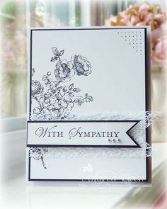 Card: With Sympathy