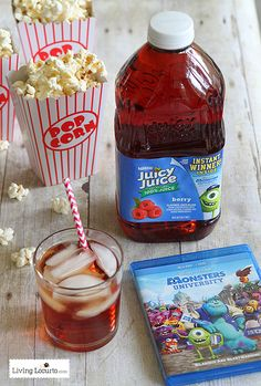 10 Monsters University Fun Food Recipes & Great Giveaway for a Family Movie Night Pack. #monstersU #giveaway food recipes, fun food, 10 monster, recip food, movi night, drink recipes, movie nights, famili movi, monster university