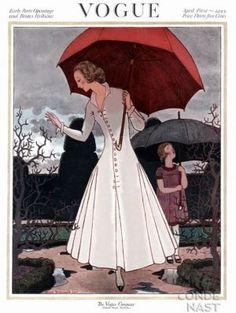 Vintage Vogue magazine covers - mylusciouslife.com - April 1 1922 - vintage cover of Vogue.jpg