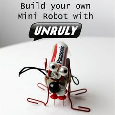 This is a great way to bring STEM  into your Troop meeting...Make mini robots