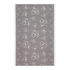 More Ikea fabric in gray and white... Only $8.99/yd!