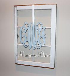 14 INCH Wooden monogram Wall Letters Wedding by MonogramDecorNest, $24.00