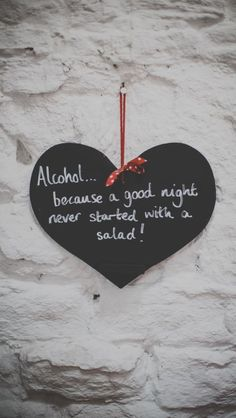 Fun wedding sign for the wet bar ;)