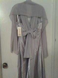 silver/grey back