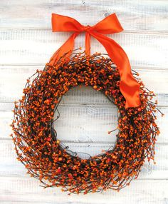 Get festive with a happy wreath. $59