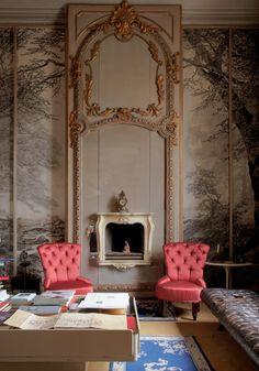 Carlo Mollino's sitting room -Tuba TANIK