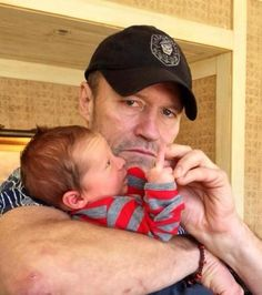 This is what happens when you let Merle babysit. #thewalkingdead #twd