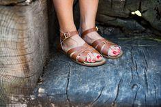 Saltwater Sandals, $60.
