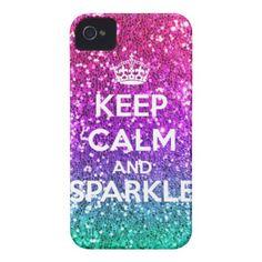 Keep Calm and Sparkle!