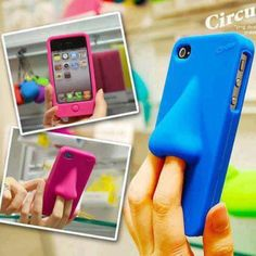 Weird Nose iPhone accessory #iPhone #case #cover #crazy #sprout