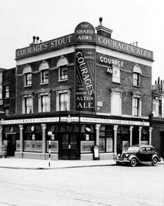 Shard Arms Old Kent Road 1950s
