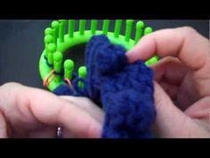 Loom Knit Large Bobbles