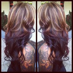 this is a burgundy/red that might actually work in my hair. also, nice sleeve.